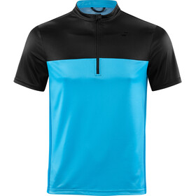 SQUARE Active Jersey Korte Mouwen Heren, blue'n'black